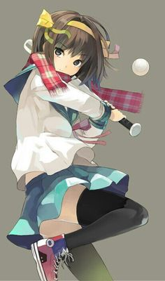 Suzumiya Haruhi - Suzumiya Haruhi no Yuuutsu - Mobile Wallpaper - Zerochan Anime Image Board Manga Girl, Anime Manga, Anime Girls, Otaku Anime, Haruhi Suzumiya, Nisekoi, Demon Slayer, Angel Beats, Anime Life