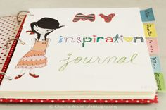 I want to make one of these cute notebooks for my Style Journal