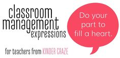 Classroom management expressions!