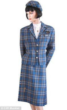 British Caledonian air hostess uniform!