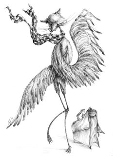"""Sometimes you need to think like your predator"" by Graţiela Aolăriţi/ Vulpo-bărzoiu'"
