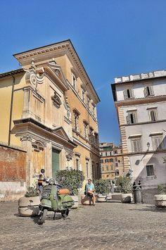 Piazza San Calisto Trastevere