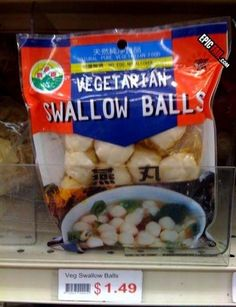 Food Products with Crazy Names