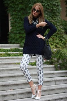 Zara Shirt, Zara Necklace, Prada Sunglasses, Zara Pants, Zara Heels, Alexander Wang Bag