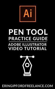 Adobe Illustrator - Using the Pen Tool Video Tutorial . - August 09 2019 at Graphic Design Tools, Graphisches Design, Graphic Design Tutorials, Tool Design, Graphic Design Inspiration, Design Process, Vector Design, Design Trends, Illustrator Video