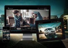 Mercedes-Benz V-Class #webdesign #inspiration #UI