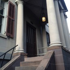 Juliette Gordon Low Birthplace #Savannah #door... Girl Scouts founder's house...I've been there