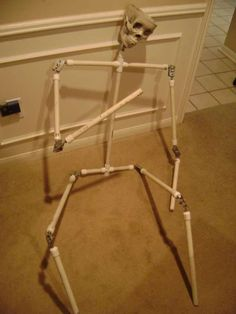 Instructions on making a fully articulated body frame for monster props.    Remember to check out our halloween store http://deals.dreadcentral.com