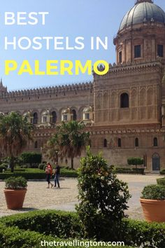 The 12 best hostels in Palermo for all budgets and those after a cheap hostel or a high end one. These Palermo hostels have something for everyone! Italy Travel Tips, Rome Travel, Travel Destinations, Budget Travel, Cinque Terre, Travel Around The World, Around The Worlds, Palermo Italy, Ultimate Travel