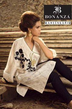 Maheen Karim Autumn Winter Dresses 2014 for Women.Latest Pakistani Designer Dresses 2014. #pakistanidesignerdresses, #dressdesigns2014, #pakistanidresses