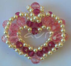 Beaded Heart pendant