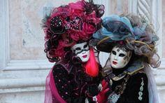 Image Masks, costumes, carnival, venice