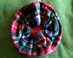 Medium Multicolor Plaid Bed/Bag for Ferrets and by Cabsynth, $14.00