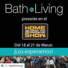 #Repost @bathforliving  Recuerden la cita es desde el 18 al 21 de marzo... en el #HomeShows Los Esperamos! @FLHomeShows #Florida #Miami #House #Decora #Decoración #Remodela #Plomería #Grifería #Ferretería #EEUU #HomeRenovation #HomeImprovement #OutdoorsPace #uxuryliving #tileaddiction #tiles #wood #miamidesigndistrict #architecture by flhomeshows
