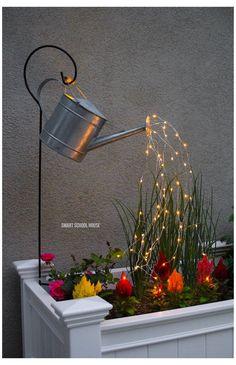 Glow Water, Water Water, Water Fairy, Weird Inventions, Light Project, Back Gardens, Garden Inspiration, Garden Ideas, Garden Tools