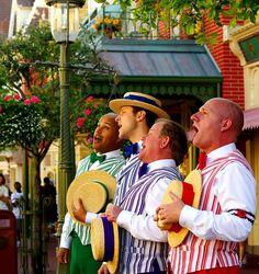 Dapper Dans at Disneyland, California