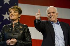 After Picking Sarah Palin, Zero Credibility John McCain Jumps The Shark With Trump Attack