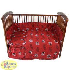 College Covers South Carolina Gamecocks Baby Crib Set