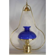 Lampe à suspendre à pétrole éclairage bistrot cabane abat jour bleu Lighting, Home Decor, Lantern, Alcohol, Cabin, Decoration Home, Room Decor, Lights, Home Interior Design