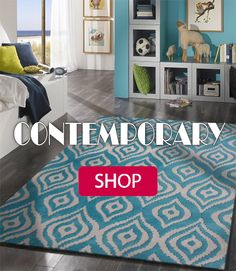 This style of rug is guaranteed to amplify your room with an great taste.With it's unique designs and beautiful colors, that are sure to stand out with eye popping beauty...You can contact us at our website for purchasing at the link below. http://rugaddiction.com/collections/metric-collection/products/contemporary-sky-blue-bedroom-area-rug