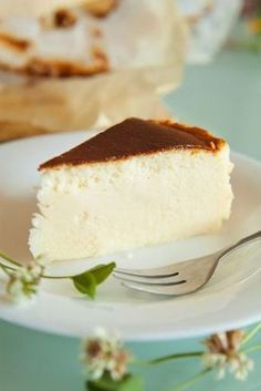 """Gâteau """"mousse de bananes """" in 2019 Banana Mousse, Mousse Cake, Cakes Originales, Cheesecake Recipes, Dessert Recipes, Quick Cake, Flan, Sweet Recipes, Love Food"""