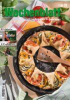Die Schritt-für-Schritt-Anleitung zur Sternpizza auf dem Titel finden Sie im Wochenblatt  30 / 2016