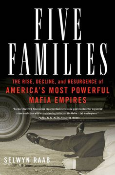 You need to understand The Mafia. Just Saying : Genovese, Gambino, Bonnano, Colombo and Lucchese. For decades these Five Families ruled New York and built the American Mafia (or Cosa Nostra) into an underworld empire. Italian Gangster, Real Gangster, Mafia Gangster, Gangster Party, Gangster Films, Libra, Books To Read, My Books, Mafia Crime