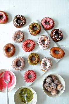 Hjemmelavede doughnuts - Anne au Chocolat