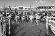 #fishermanswharf #pier39 #thegoodshiplollipop #fineart #blackandwhitephotography #monochrome #lovephotography #photooftheday #photography #nikon #nikonphotography #bayarea #iconic #bnw_life #bnw_captures #bw_lover #bnw_society #bw_photooftheday #landscape #seascape #nikonnofilter #instagram #natgeotravel #bnw #sanfrancisco #roadtrip #wanderlust #fishing #boats #docked