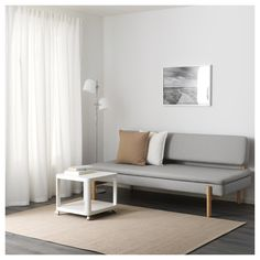 IKEA - YPPERLIG, sleeper sofa, In this sleeper sofa you can sleep really comfortably since the seat has the same construction as a pocket spring mattress.The wider seat angle makes the sofa feel deeper and you sit more comfortably. White Bedroom Furniture, Ikea Furniture, Dining Room Furniture, Furniture Design, Modern Furniture, Furniture Movers, Ikea X Hay, Ypperlig Ikea, Sofa Design