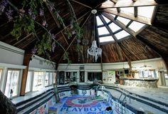 Deserted Places: Tiki Palace: An abandoned Playboy mansion in Tenne...