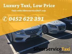 Travel with #Luxury with Silverservice24x7 #Luxury #Silver #Taxi #Service #Melbourne at #Low #Price Book cabs by Direct call 0452 622 391 Or Book@silverservice24x7.com  For more detail visit at www.silverservice24x7.com