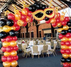 Masquerade Party Ideas   Masquerade Party Decorations B