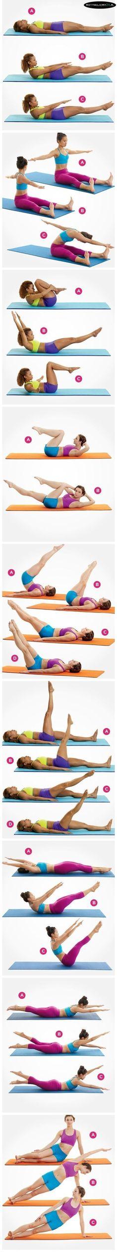 Kompletny trening brzucha - Tak wlaśnie powinien wyglądać!!!