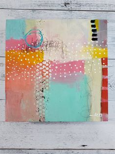 Pastel colored Abstract Painting Find Your Way Back by Jodi Ohl#abstract #abstractpainting #patterns #acrylicpainting #jodiohl Inspiring Art, Main Colors, Art Journaling, Color Trends, Collage Art, Journals, Design Art, Original Art, Finding Yourself