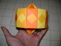 Origami - Tháღ: Carrossel [Passo a passo]