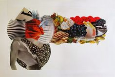 Isabel Chiara Collage: collage de papel