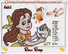 Ponto Cruz da Vanessa: Princesas Disney