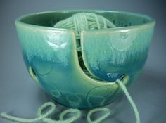 This is really beautiful design and is practical as well.  I know a lot of knitters and crafters that would love, love a bowl like this.