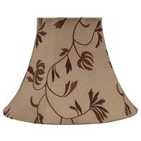 20 portfolio 14h blue and brown embroidered lamp shade lowes clearance lighting lowes canada mozeypictures Image collections