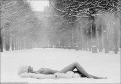 black woman in snow - Google Search