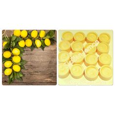 Yellow Candles, Scented Wax Melts, Sicilian, Lemon, Fruit, Cubes, Unique Jewelry, Handmade Gifts, Etsy
