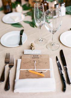wedding reception idea; photo: Laura Murray