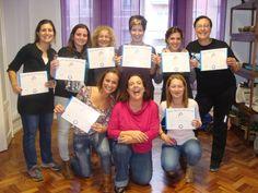 Entrega de Diplomas na Formação de Líderes de Riso de Novembro 2014 em Lisboa