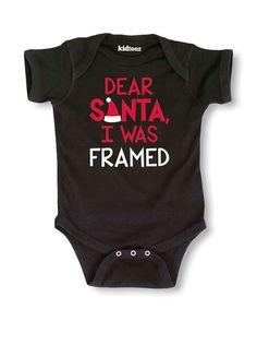 KidTeez Kid's Dear Santa I Was Framed Bodysuit, http://www.myhabit.com/redirect/ref=qd_sw_dp_pi_li?url=http%3A%2F%2Fwww.myhabit.com%2Fdp%2FB015PJP1SG%3F