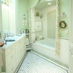 Traditional Bathroom Green Design Ideas Pictures Remodel And Decor Page 13