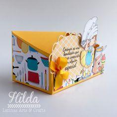 Hilda Designs: Tutorial #67 en LA&C: Cajita Recetario