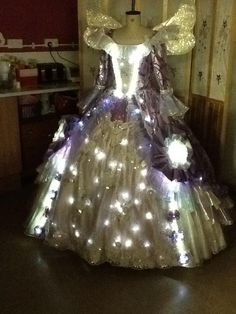 Fairy godmother costume. Wow!  I would love one of these!