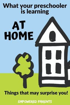 Your home is the perfect place for your preschooler to learn through daily routine and experiences. Let's take a look at the valuable skills your child learns in each room and area of your house. #earlylearning #learningathome #childdevelopment #learningthroughplay Early Learning Activities, Preschool Learning, Toddler Preschool, Child Development Stages, Emotional Development, Writing Prompts For Kids, Kids Writing, School Readiness, Learning Through Play