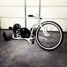 Trike Drifting Wheels   SFD Industries Big Wheel Drift Trike - Octane Freaks
